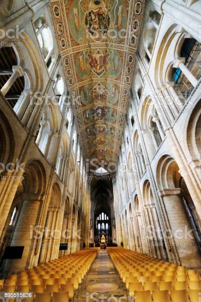 Transept and ceiling in Ely Cathedral