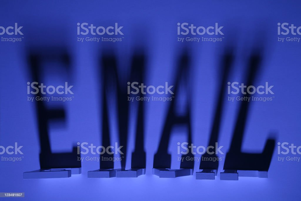 Email Abuse and Privacy Scams royalty-free stock photo
