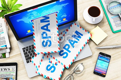 istock E-mail and spam concept 842133980