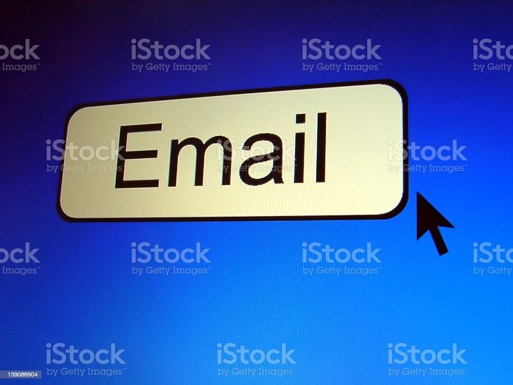 Email button royalty-free stock photo