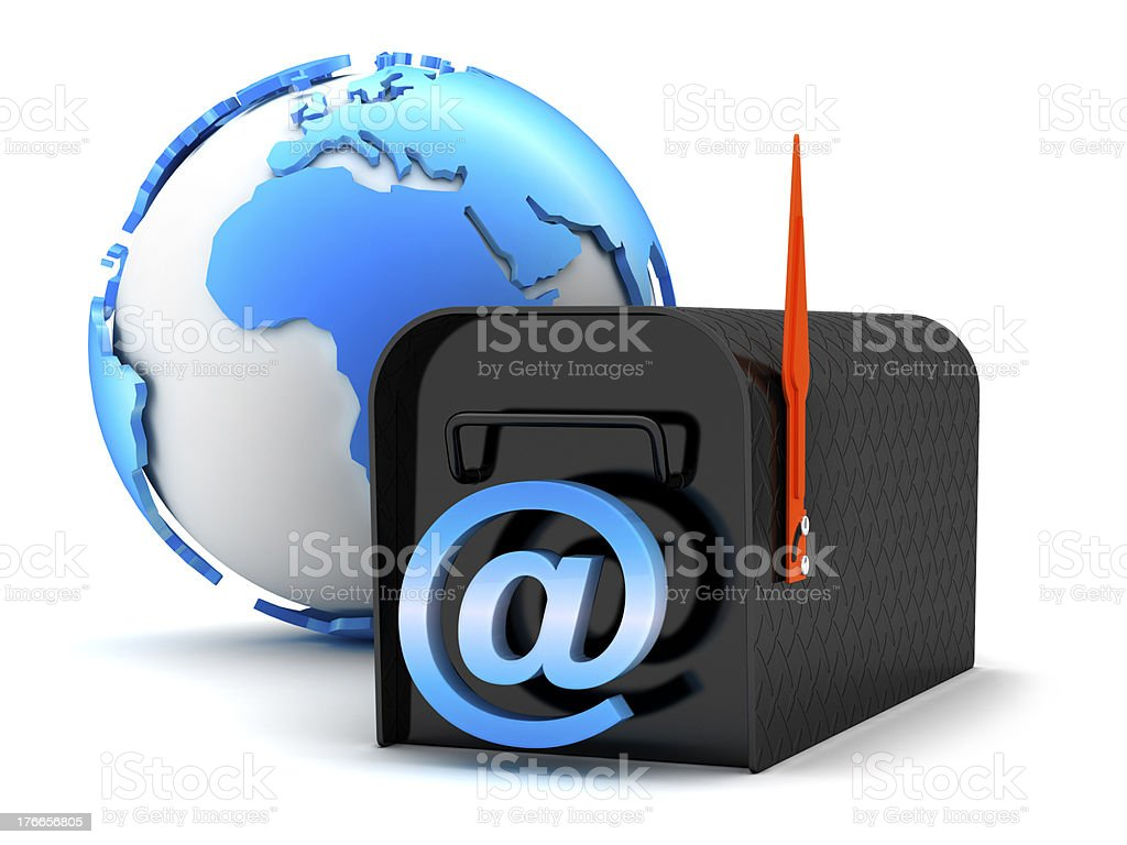 E-mail - concept illustration royalty-free stock photo