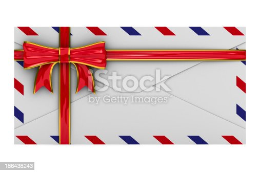 507751629 istock photo E-mail concept on white background. Isolated 3D image 186438243
