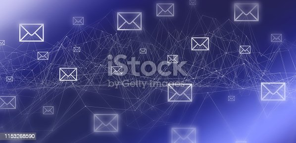 istock E-mail connection background 1153268590