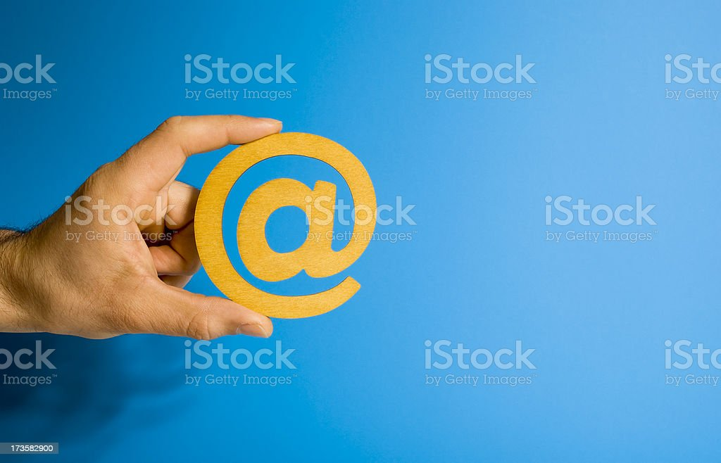 Email for you... stock photo