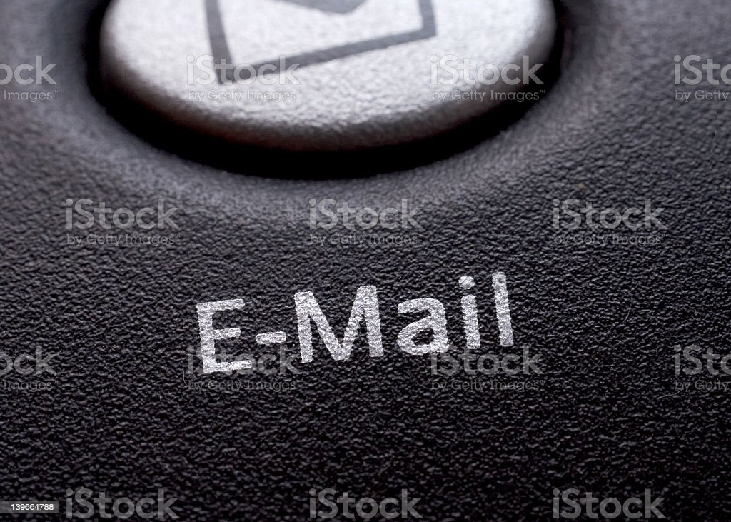 Email Key. royalty-free stock photo