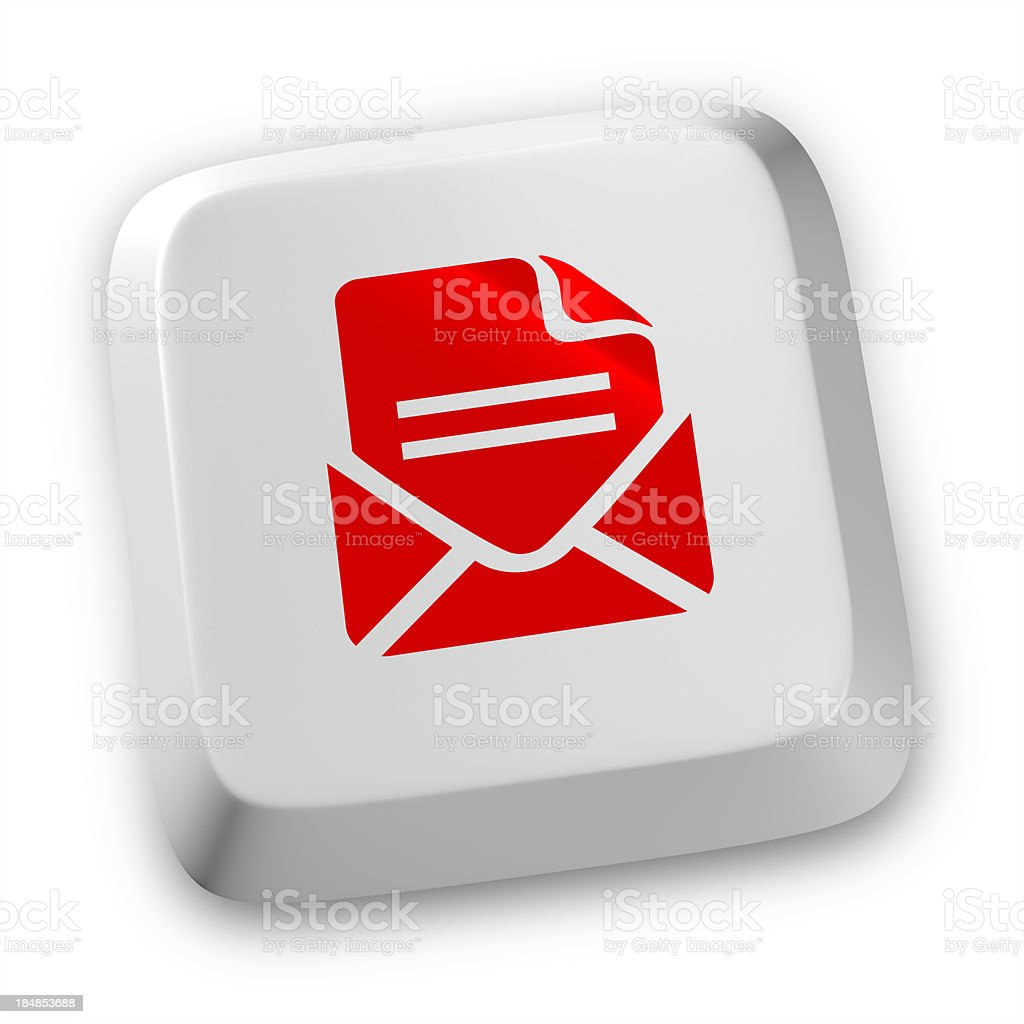 Email Keyboard concept royalty-free stock photo