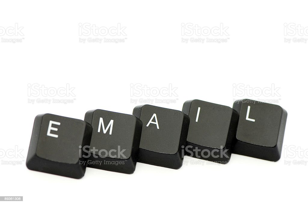 Email Letters royalty-free stock photo