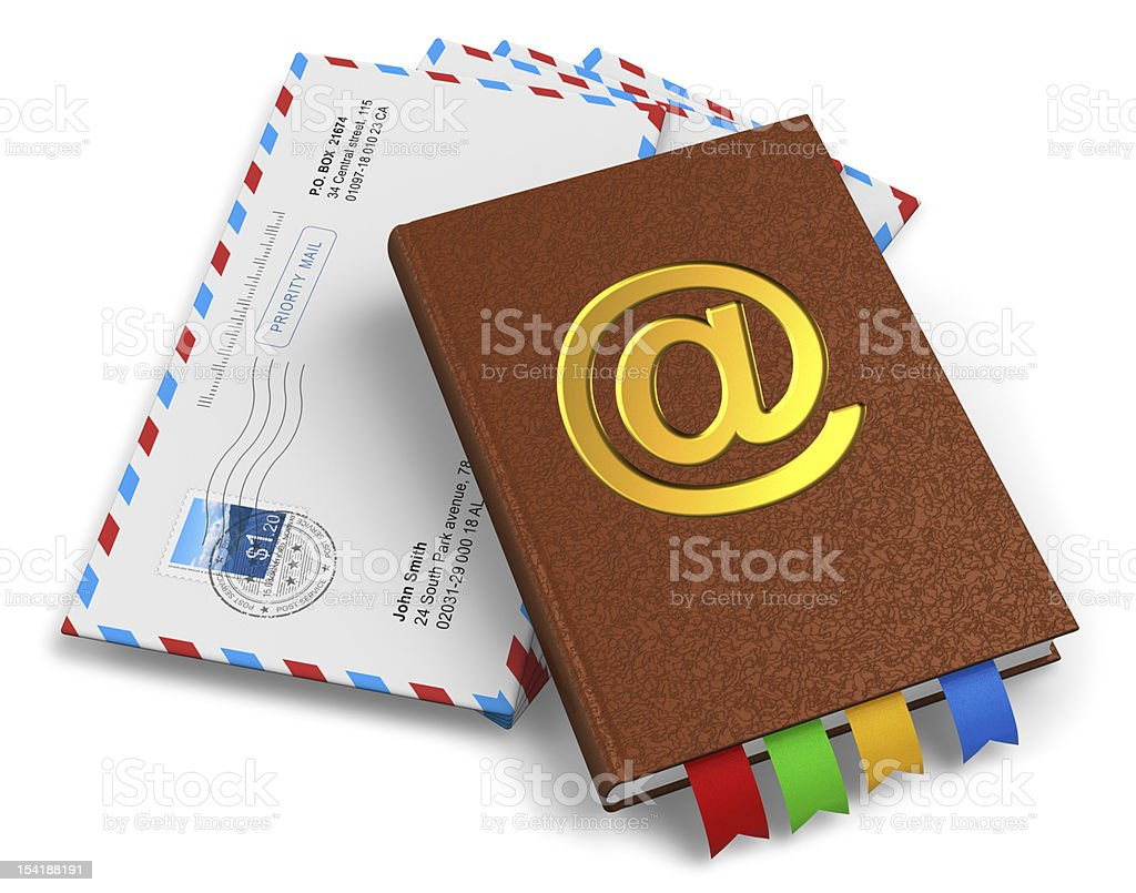 E-mail, mail and correspondence concept royalty-free stock photo