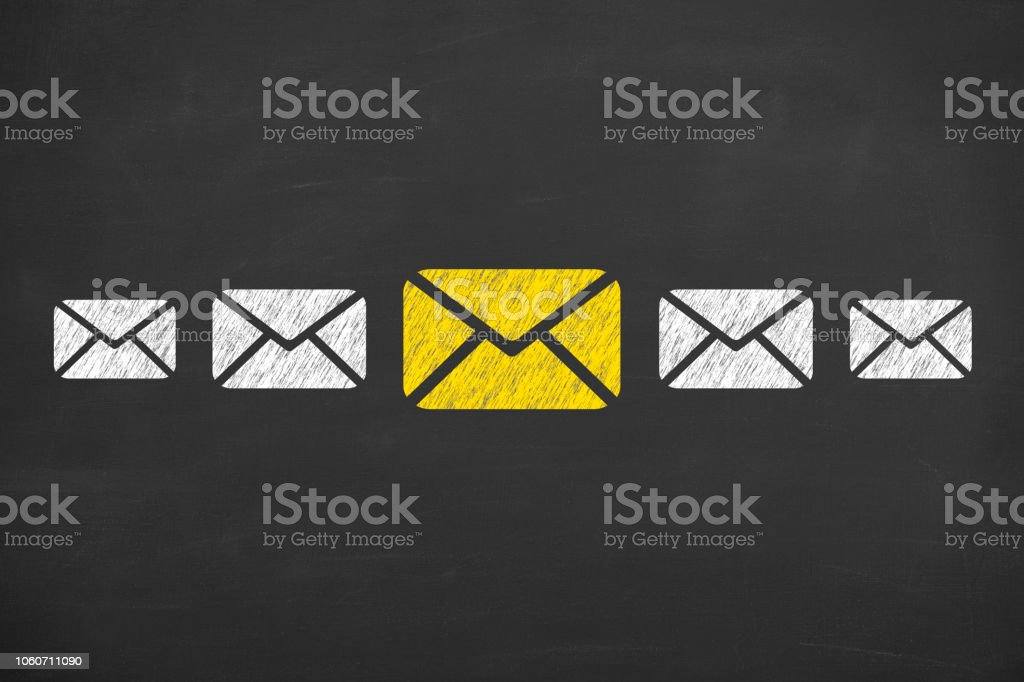 Email Marketing Newsletter And Bulk Mail Concepts Stock Photo & More