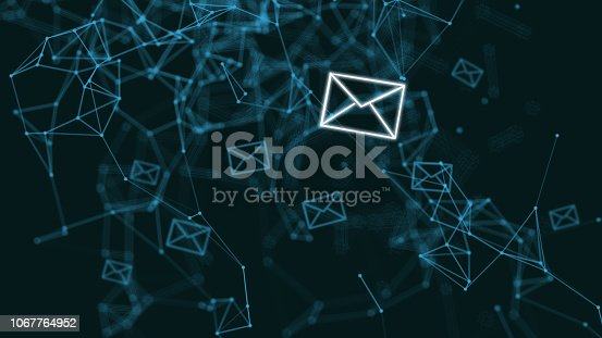 istock Email marketing online message network communication internet 1067764952