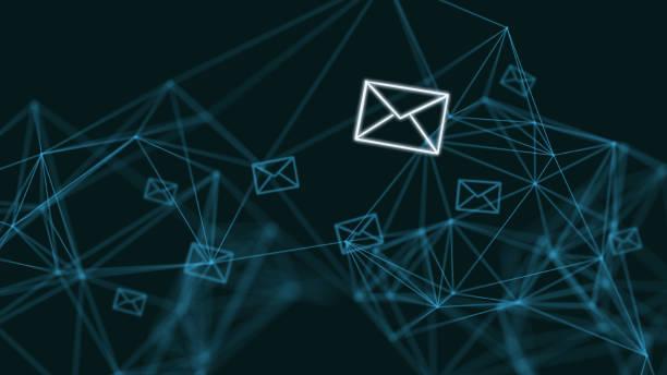 이메일 마케팅 온라인 메시지 네트워크 통신 인터넷 - 전자메일 뉴스 사진 이미지