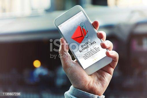 istock Email Marketing 1135607235