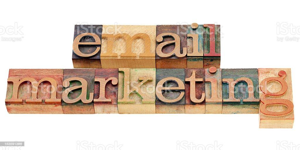 email marketing royalty-free stock photo