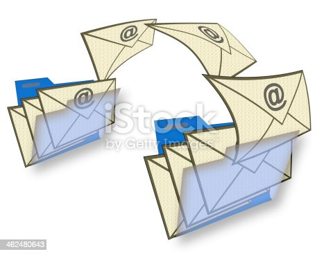 462138083 istock photo Email Moving 462480643