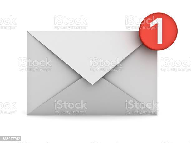 Email notification one new email message in the inbox concept on picture id838257752?b=1&k=6&m=838257752&s=612x612&h=amiubnu18zuu0nhbpdx8d72ejauokpibf6lirabgcca=