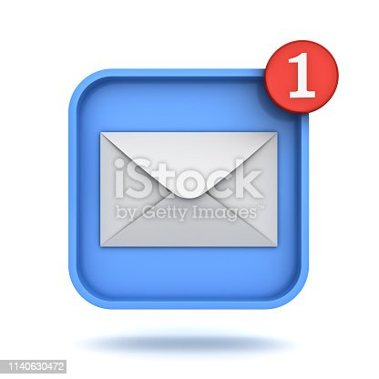 istock Email notification 1140630472