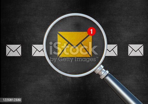 Email online message communication internet search