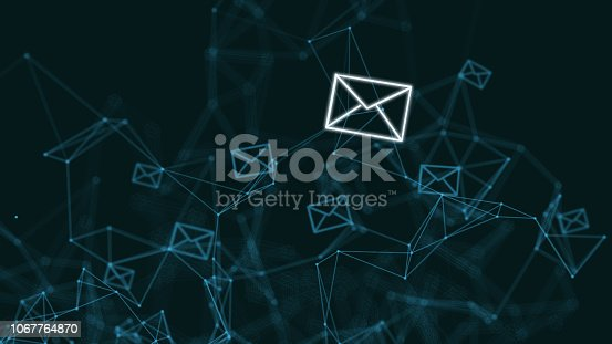 Email online message network data communication internet marketing