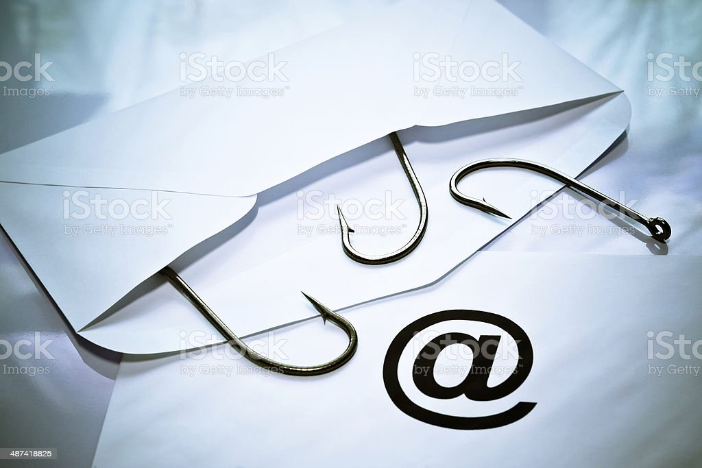 email phishing royalty-free stock photo