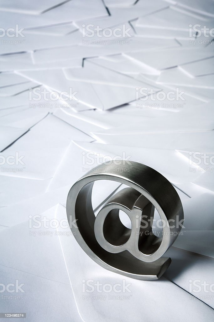 e-mail Lizenzfreies stock-foto