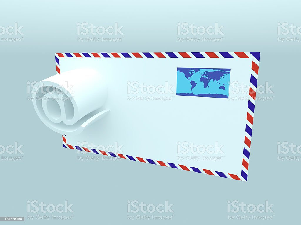 E-mail royalty-free stock photo