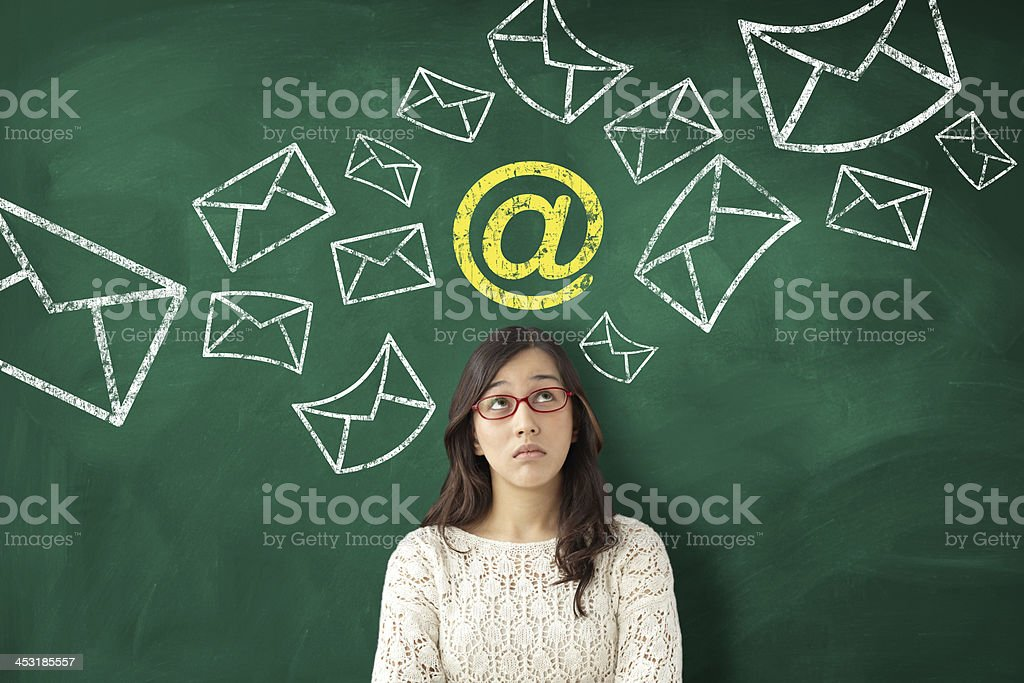 E-mail spam stock photo