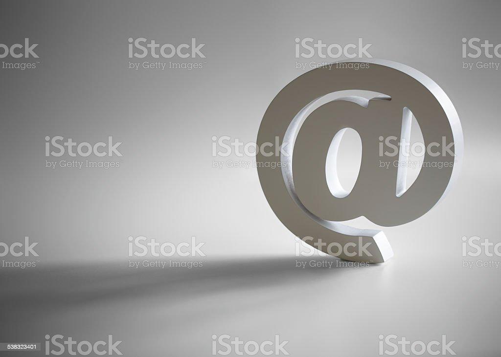 E-mail @Symbole - Photo
