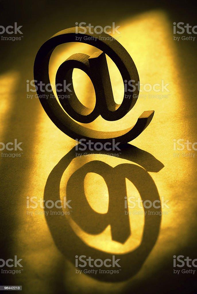E-mail símbolo - Foto de stock de Abstrato royalty-free