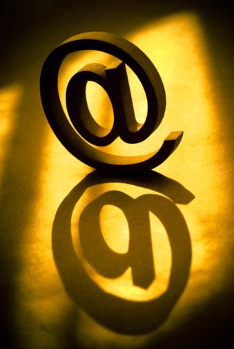 Foto de Email Símbolo e mais fotos de stock de Abstrato