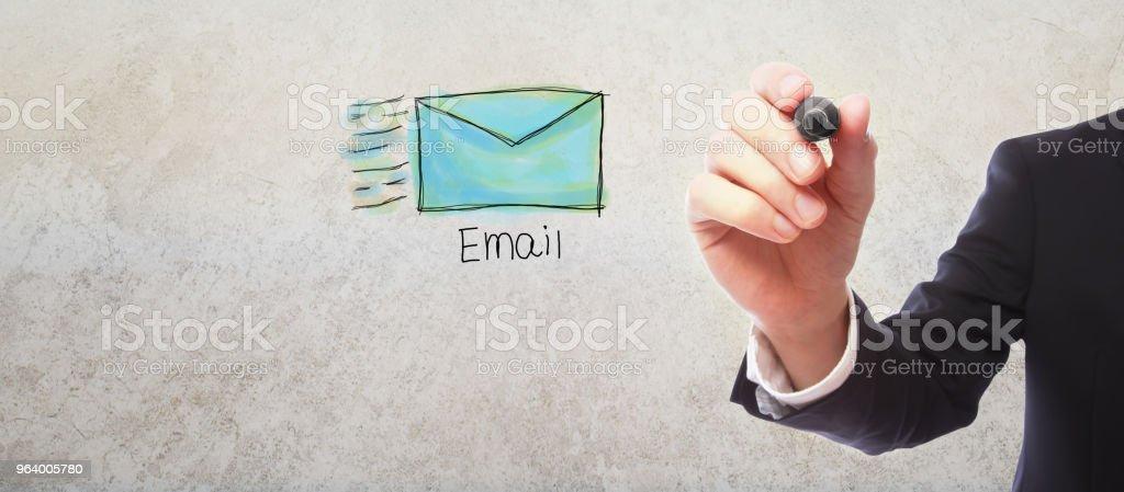 ビジネスマンとのメールします。 - アメリカ合衆国のロイヤリティフリーストックフォト