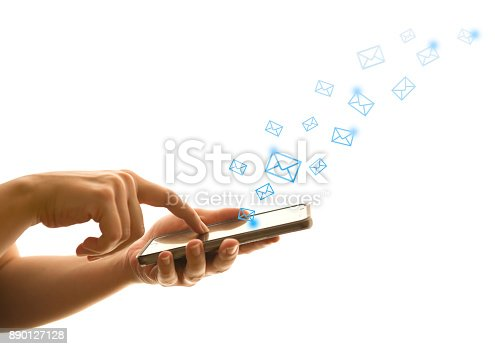 545576042 istock photo Emails 890127128