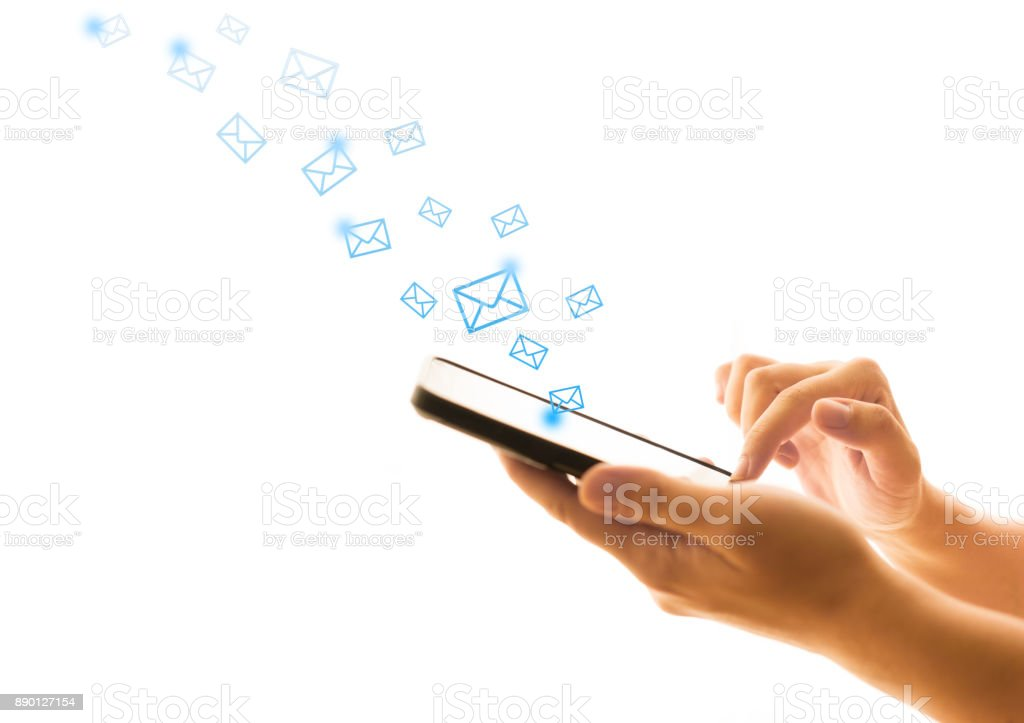 Emails stock photo