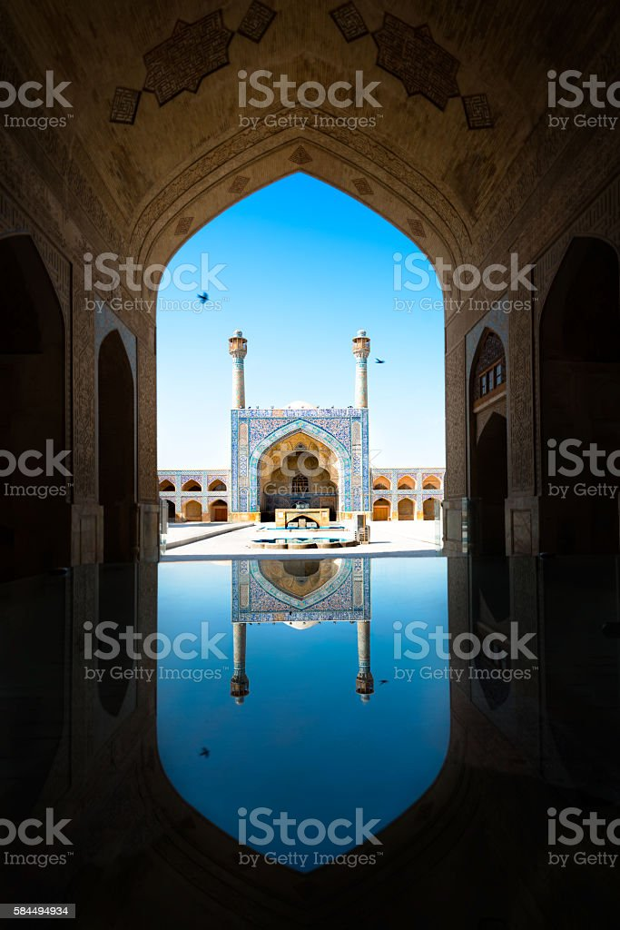 Emam Mosque.Isfahan stock photo