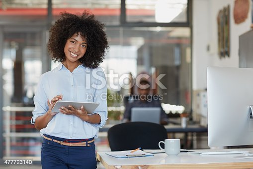 Portrait of a young female designer using a digital tablet in the officehttp://195.154.178.81/DATA/i_collage/pu/shoots/804978.jpg