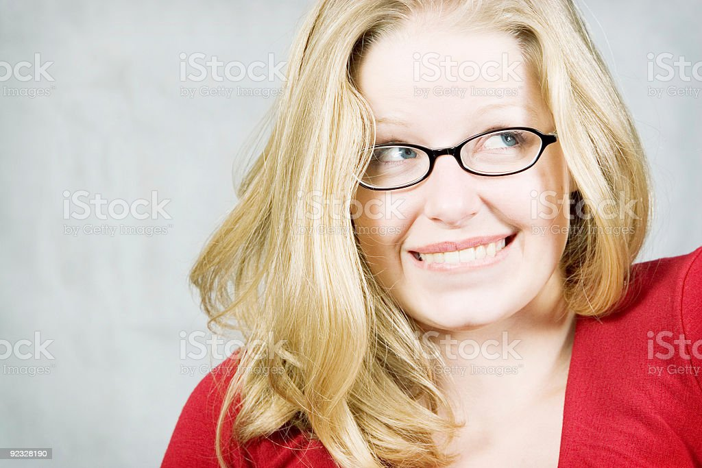 embarassment royalty-free stock photo