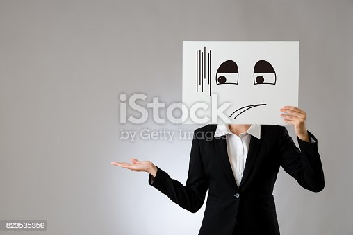 istock embarrassed illustrate and promoting gesture 823535356