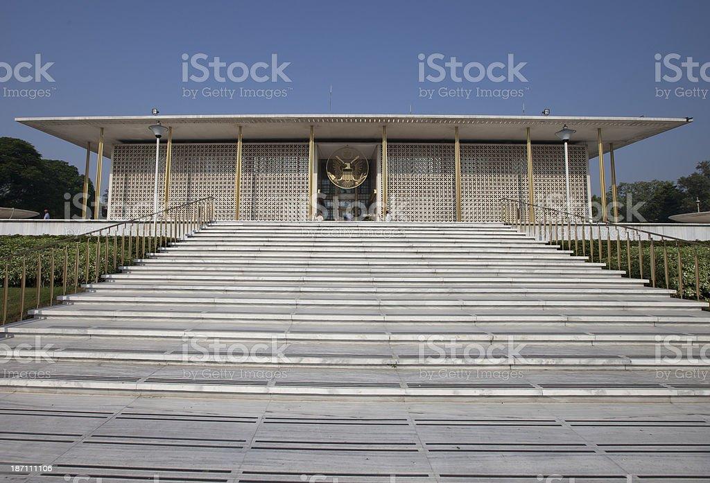 Embassy royalty-free stock photo