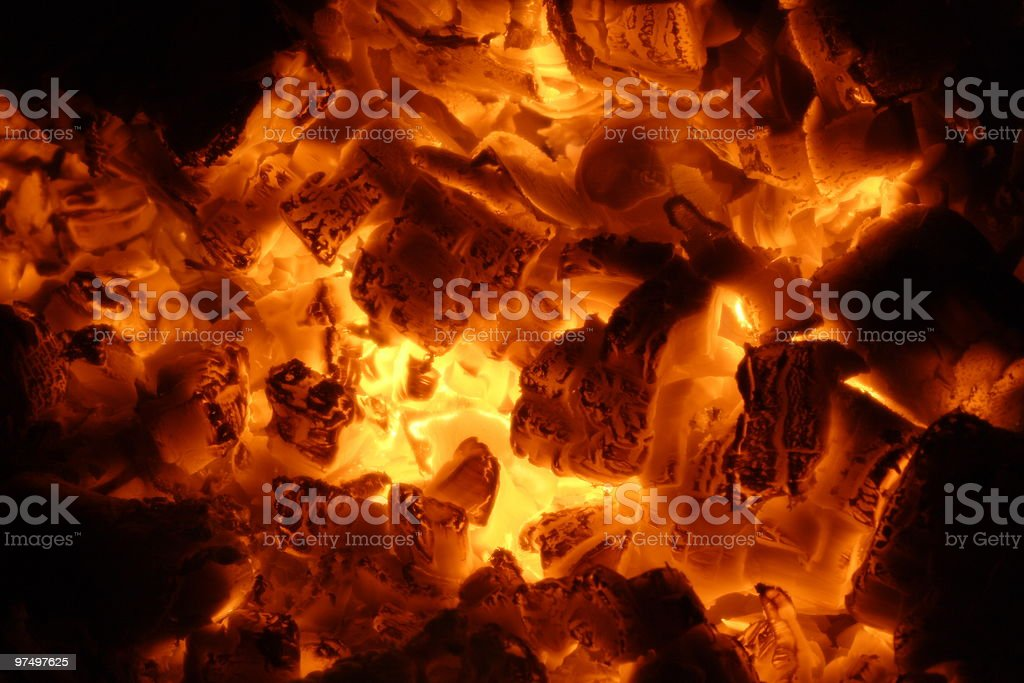 embers royalty-free stock photo