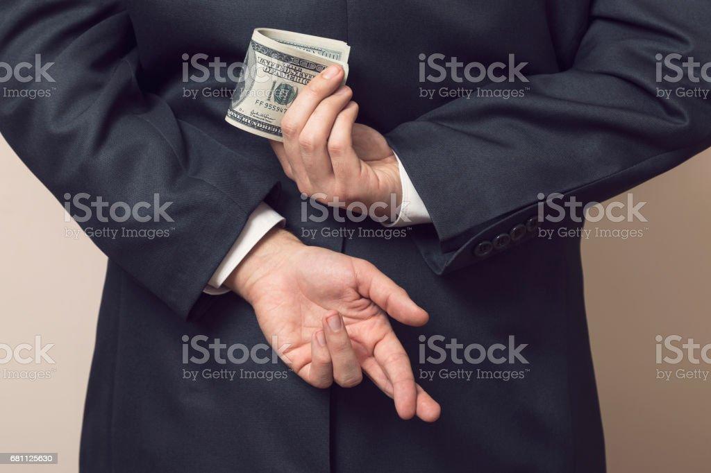 Embezzlement stock photo