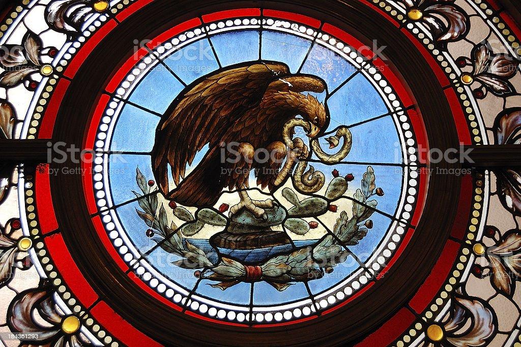 Emblem of Mexico royalty-free stock photo