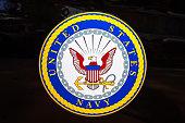 istock Emblem of the United States Navy 1191935772