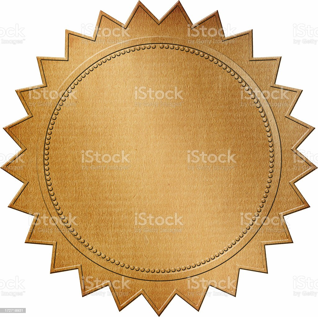 Emblem royalty-free stock photo