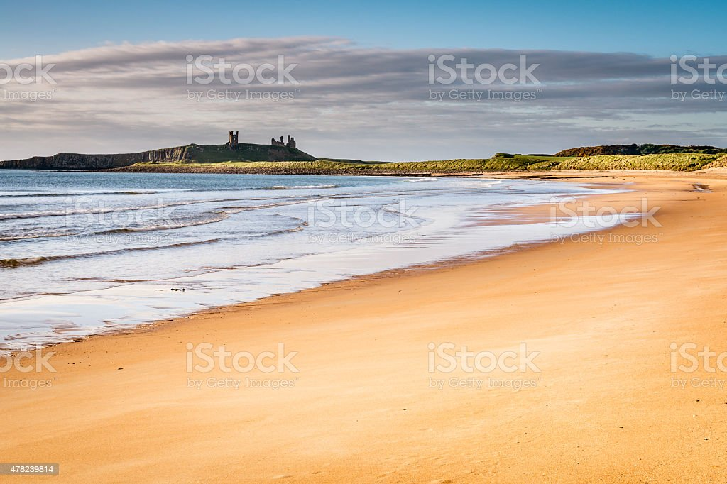 Embleton Sands stock photo