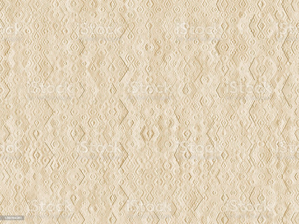 Embossed Diamond Pattern stock photo