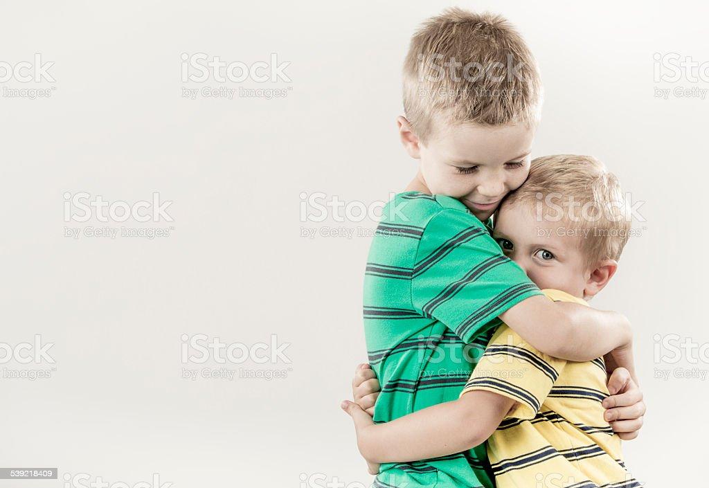Embrace stock photo