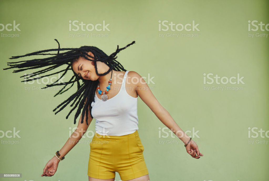 Embrace the beauty of braids stock photo