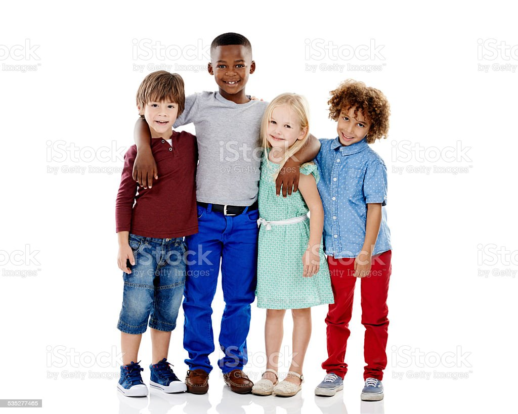 Embracing diversity stock photo