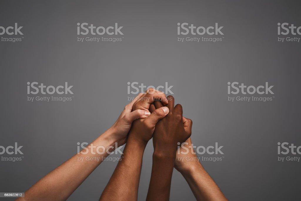 Embrasser la diversité ensemble - Photo de Abstrait libre de droits