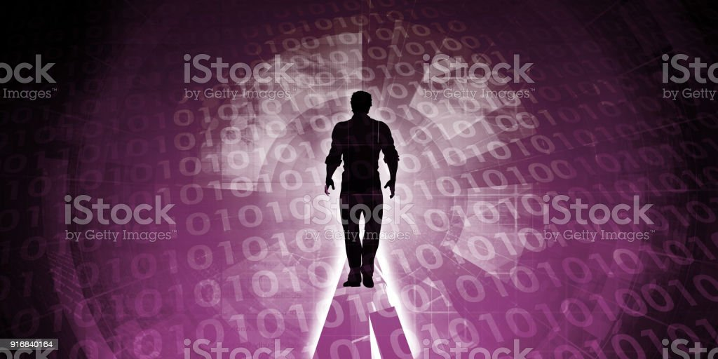 Embracing Technology stock photo