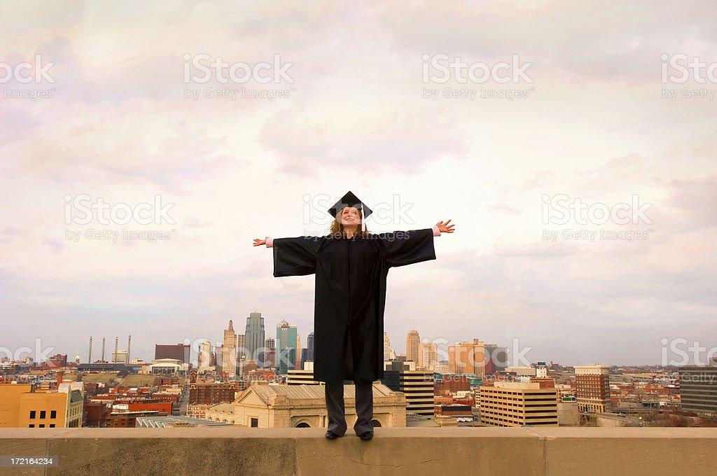 embracing the future, #2 royalty-free stock photo
